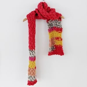 ✨50% OFF✨Urban Outfitters Red Chunky Knit Scarf